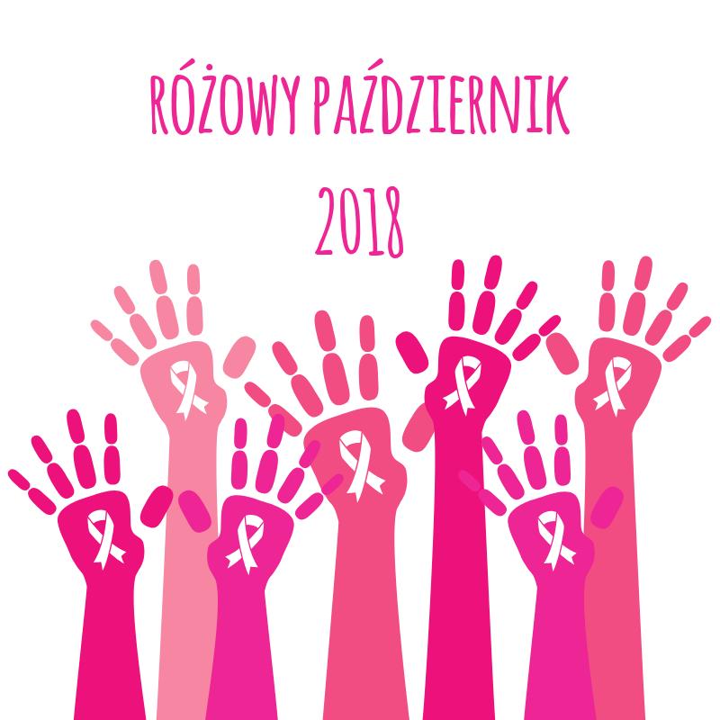 Rak piersi – różowy październik 2018